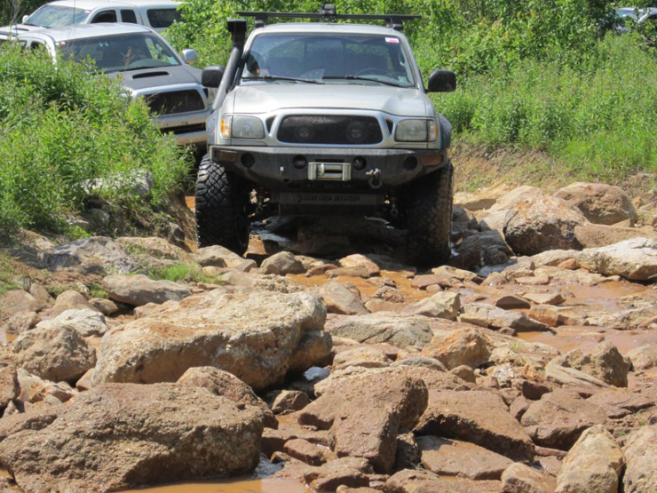 2002 Toyota Tacoma Double Cab, Conquering the Outdoors - Rocks
