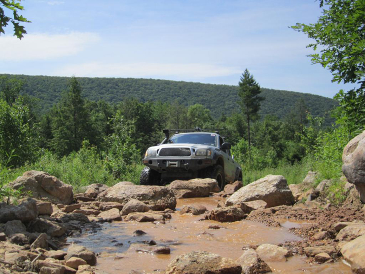 2002 Toyota Tacoma Double Cab, Conquering the Outdoors - On top of Rocks