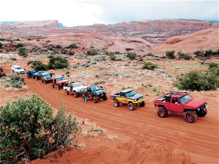 Moab Off-Roading Restrictions – Which Side Are You On?