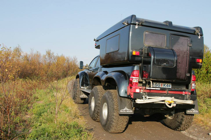 Arctic Trucks Hilux AT44 6X6 Expedition Vehicle