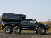 There are extreme off-road vehicles and then there is this Arctic Trucks modified Hilux.