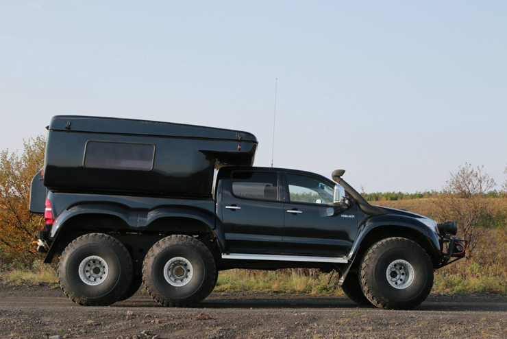 Arctic Trucks Hilux AT44 6X6 Expedition Vehicle Side