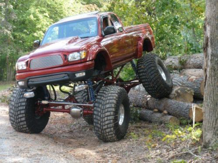 Custom 2001 Toyota Tacoma, Huge Lift - Featured Truck, For Sale