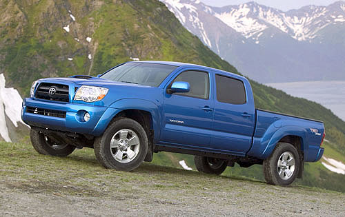 Chevy Targets Toyota Tacoma Sales in California
