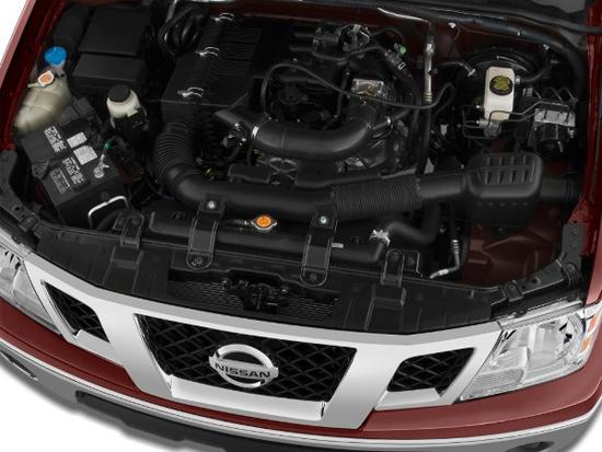 2012 Nissan Frontier Engine