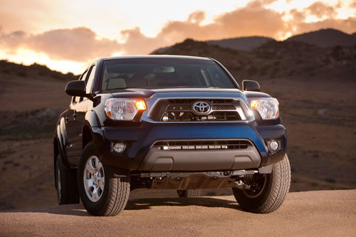 2012 IntelliChoice Top Pick – Toyota Tacoma Once Again