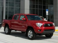 Toyota is selling Tacoma pickups at a fast clip and this is leading to high sales.