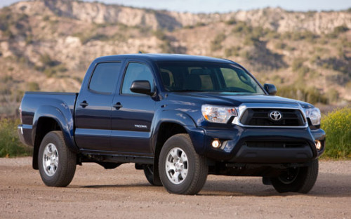 Toyota Tacoma Monthly Sales Near GMC Sierra