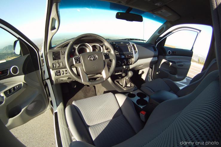 2013 Tacoma interior