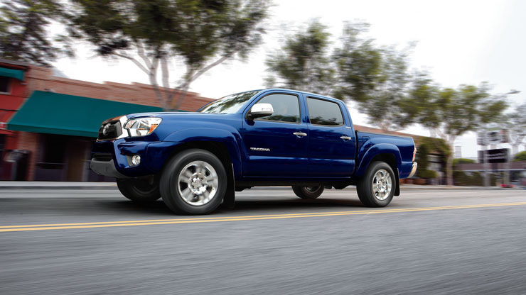 Toyota Tacoma February 2014 Sales Drop - Response to New GM Twins?