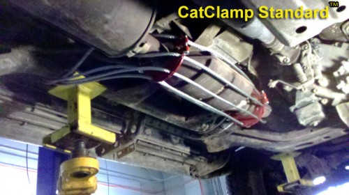 Toyota Tacoma Catalytic Converter Guards – CatClamp