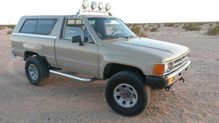 1986 Toyota Truck, Clean, Offroad Ready - Featured Truck