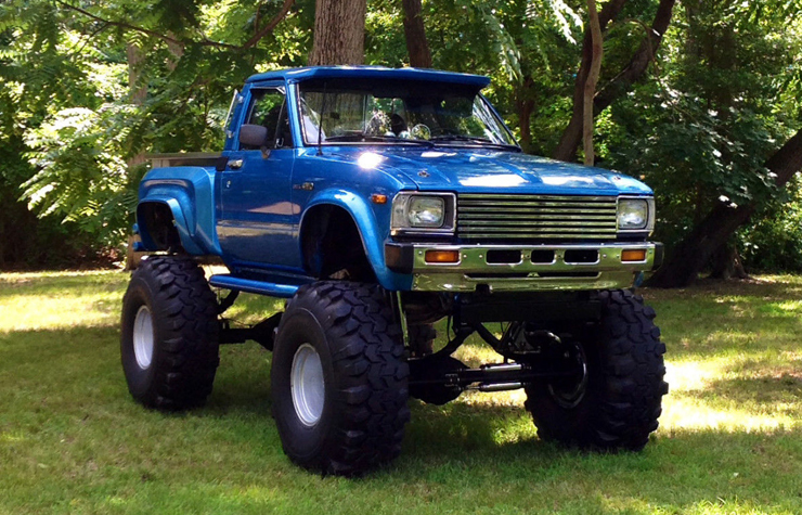 1983 Toyota Hilux Lifted Show Truck - eBay Find