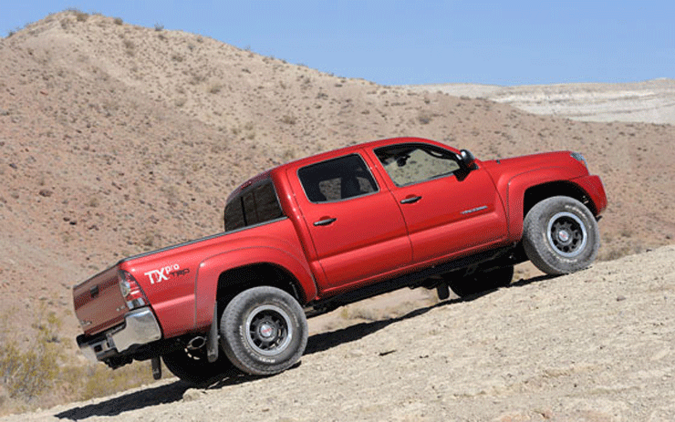 How Does it Work: Toyota Tacoma 4-Wheel Drive Explained
