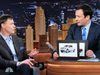 New Tonight Show Jimmy Fallon is in the market for a new pickup and the Toyota Tacoma is one of his narrowed down options.