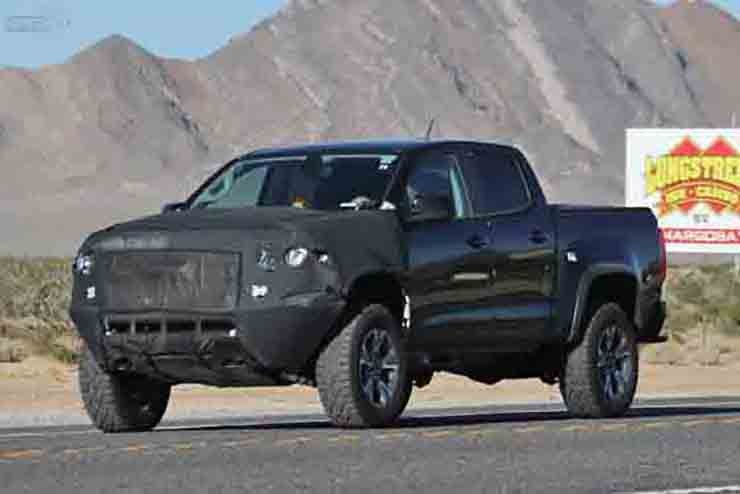 2017 Chevrolet Colorado ZR2 Spied - Debuts at 2016 LA Auto Show?