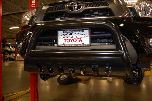 How to Install the Tacoma Smittybilt Grille Saver Bull Bar