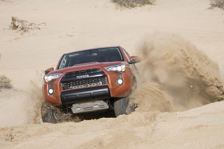 Toyota Unveils New Tacoma TRD Pro Off-Road Package - 4Runner