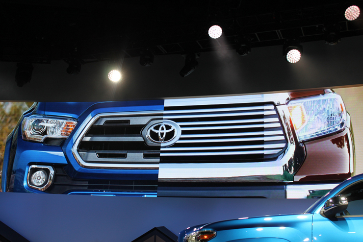 2016 Toyota Tacoma Debuts - Cautious Upgrade