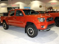 Toyota, of course, had their TRD PRO Tacoma there. We can't wait to drive this truck!