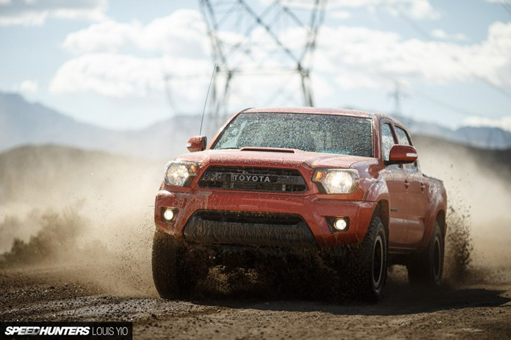 Speedhunters 2015 Toyota Tacoma TRD PRO Race