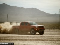 Wow! This is a great photo of the 2015 Toyota Tacoma TRD PRO in action!