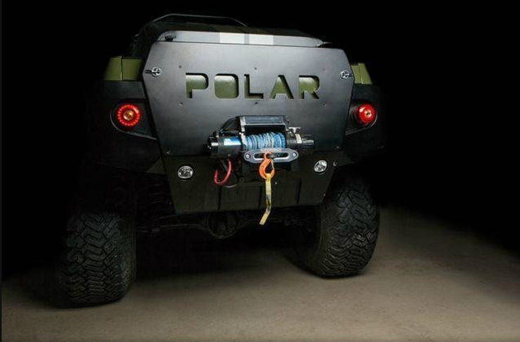Polar Toyota Tacoma for Sale - Customized for South Pole Travel