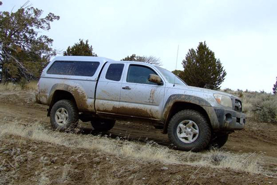 Featured Truck – 2011 Toyota Tacoma 4Wheelin4Banger, Fun in the Works