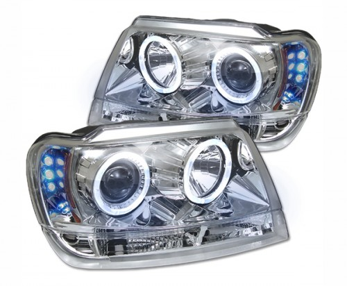 Spyder Halo Projector Headlights for the Toyota Tacoma