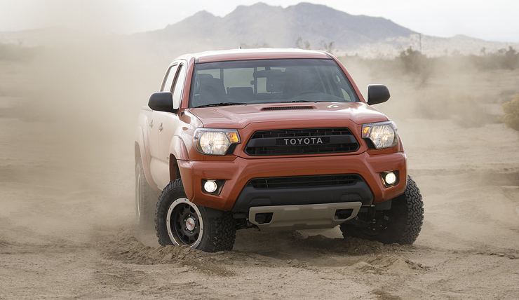 Toyota Unveils New Tacoma TRD Pro Off-Road Package