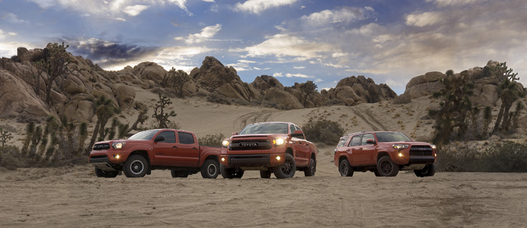 Toyota Unveils New Tacoma TRD Pro Off-Road Package - Tundra, 4Runner Too!