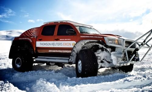 The TRE South Pole Toyota Tacoma