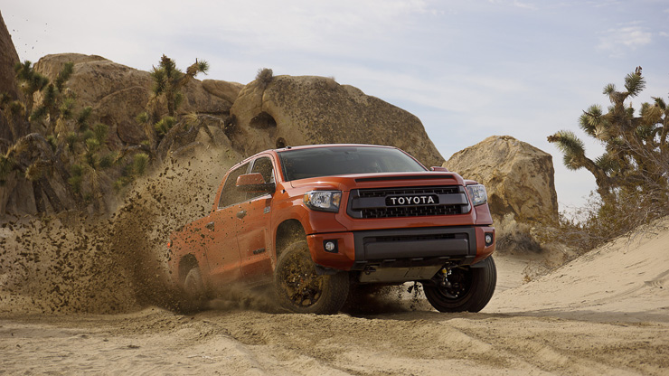 Toyota Unveils New Tacoma TRD Pro Off-Road Package - Tundra