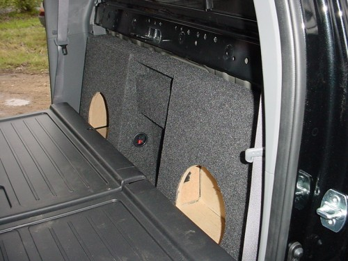 Mounting A Subwoofer In Your 2005+ Toyota Tacoma