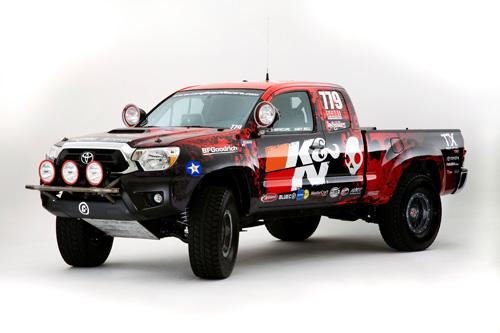 2011 SEMA Toyota:Long Beach Racer's Tacoma