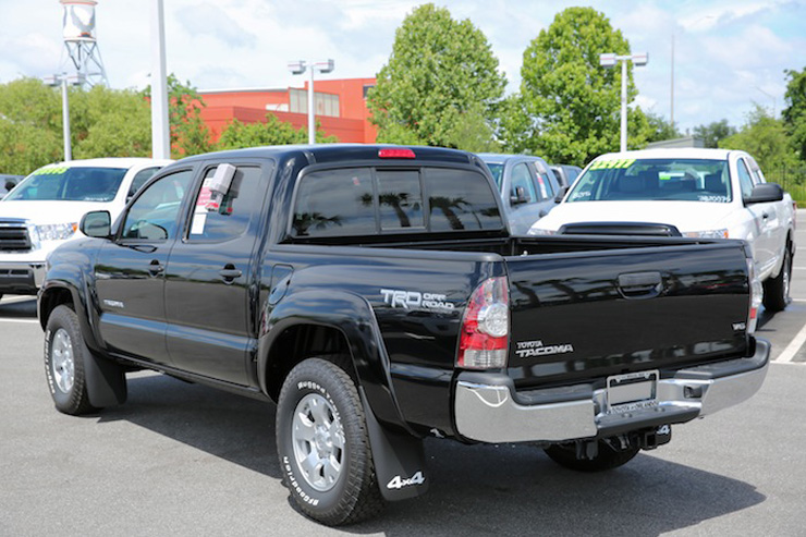 Toyota Tacoma January 2014 Sales - Cold Weather to Blame?
