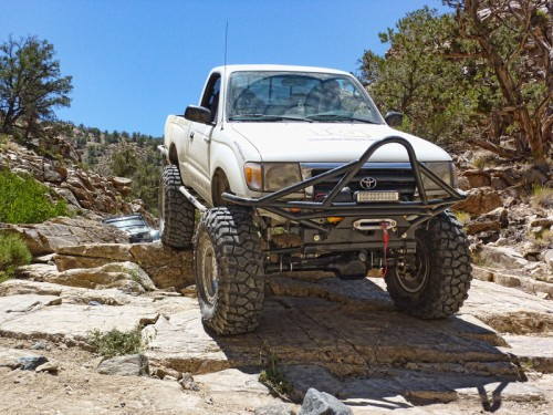 Trail-Gear Rock Defense Front Bumper Tacoma