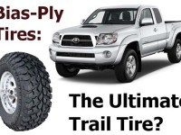 There is an ongoing debate about using Bias-Ply tires for offroading. Here is our take.