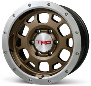 "Bronze TRD Beadlock 16"" rims"