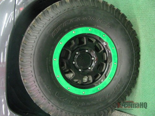 "16"" bead lock wheels Gamer Tacoma"