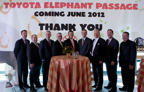 Toyota Gives Back – Supports Denver Zoo