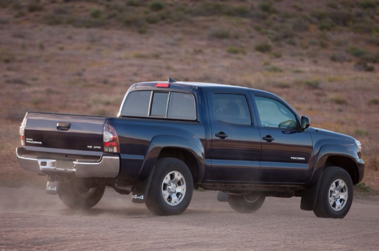 Toyota Recalls 2012/13 Tacoma Pickups - Disabled Safety Systems