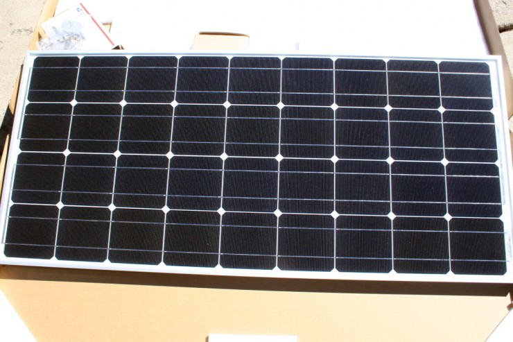 Solar power system for camping