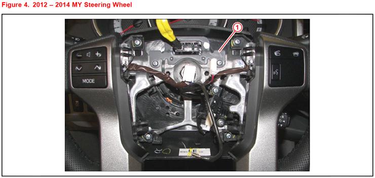 Toyota Tacoma Driveline Vibration TSB - Steering Wheel Damper