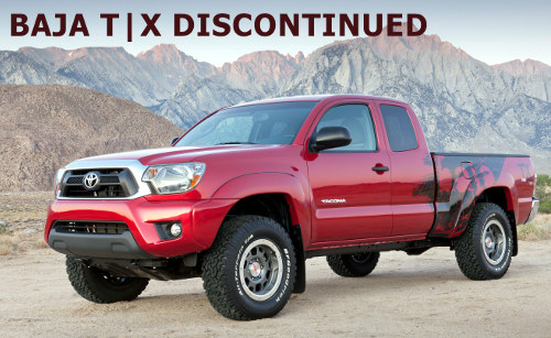 Toyota Discontinues TRD T|X Baja and X-Runner for 2014