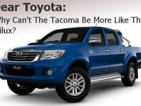 What Toyota Can Learn From the Hilux