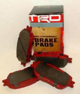 Tacoma TRD brake pads