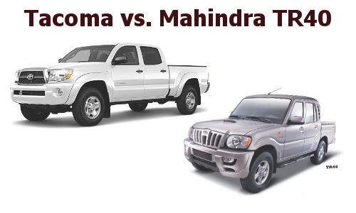 New Mahindra Pik-Up Gas Mileage No Threat To Tacoma