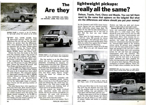 Toyota Pickup Review From 1972 – Are We Better Off?